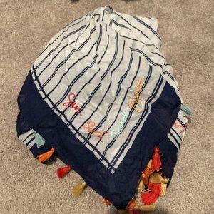 Rebecca minkoff tassel scarf